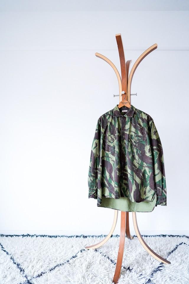 "【1960s】""Lizard Camouflage"" Field JKT, Portuguese army / v587"