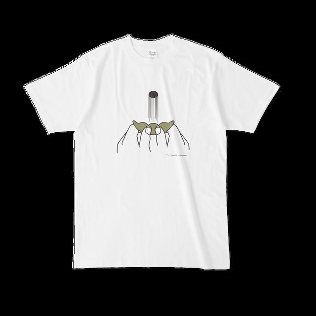 豆飛ばしTシャツ