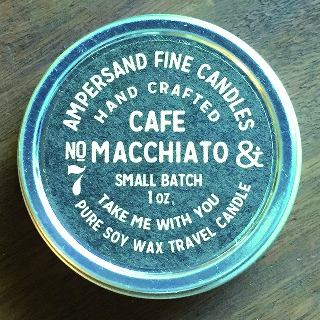 1oz Travel Can -CAFE MACCHIATO- キャンドル Candles - メイン画像