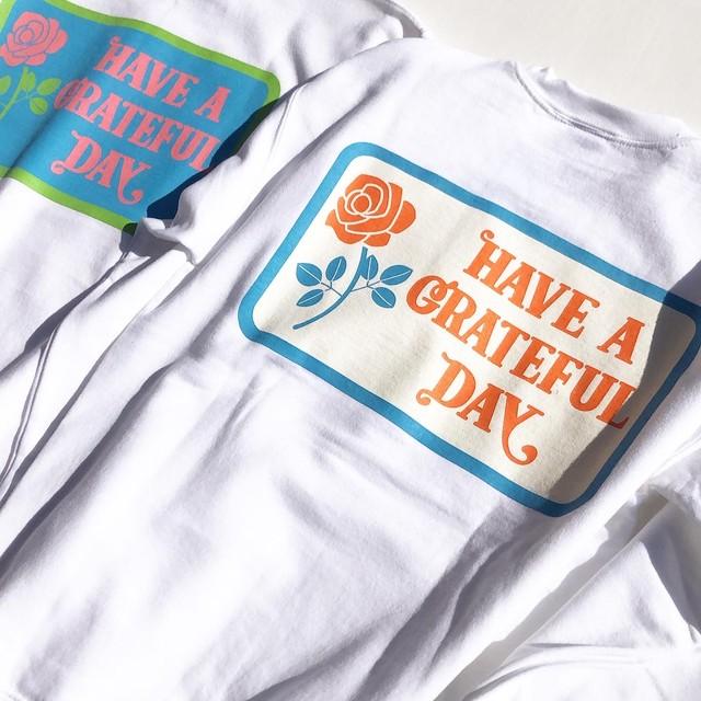 "Have a Grateful Day ""Box Logo"" Sweatshirt"