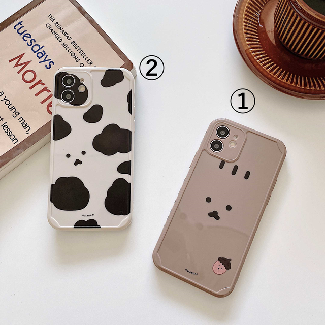 Side cute animal ipnone case