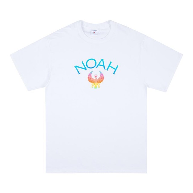 Noah x Earth, Wind & Fire Phoenix Logo Tee(White)