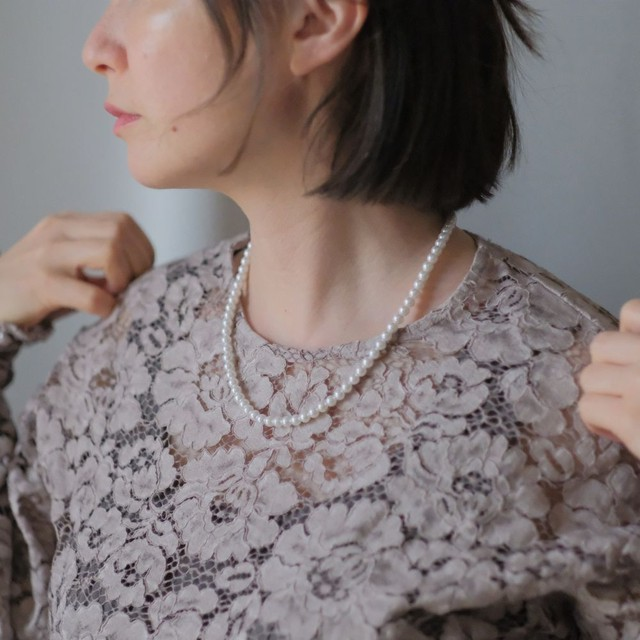 the spring knit + vintage collection: the pearl necklace edition 8