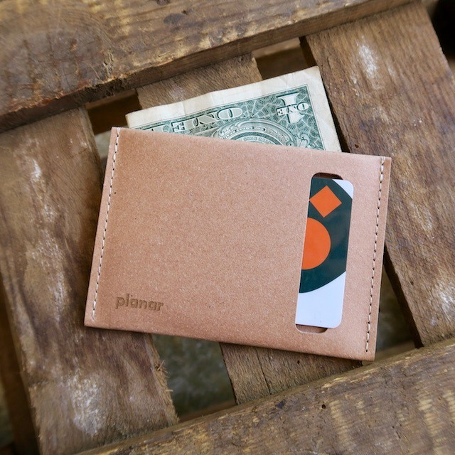 Planar  Wallet & Card Case -Natural-