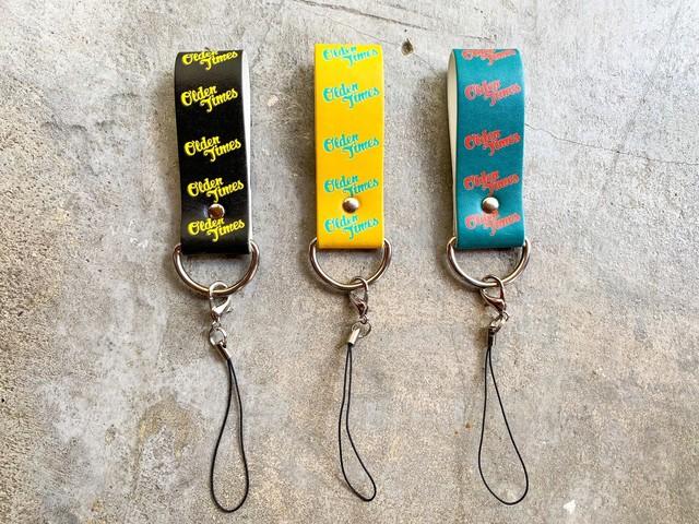 【新作/オリジナル巾着袋付き】TWIST KEY RING