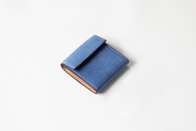小銭入れ/Blue