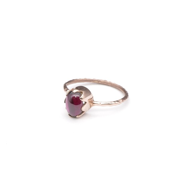 SINGLE PETIT STONE NON-ADJUSTABLE RING 005