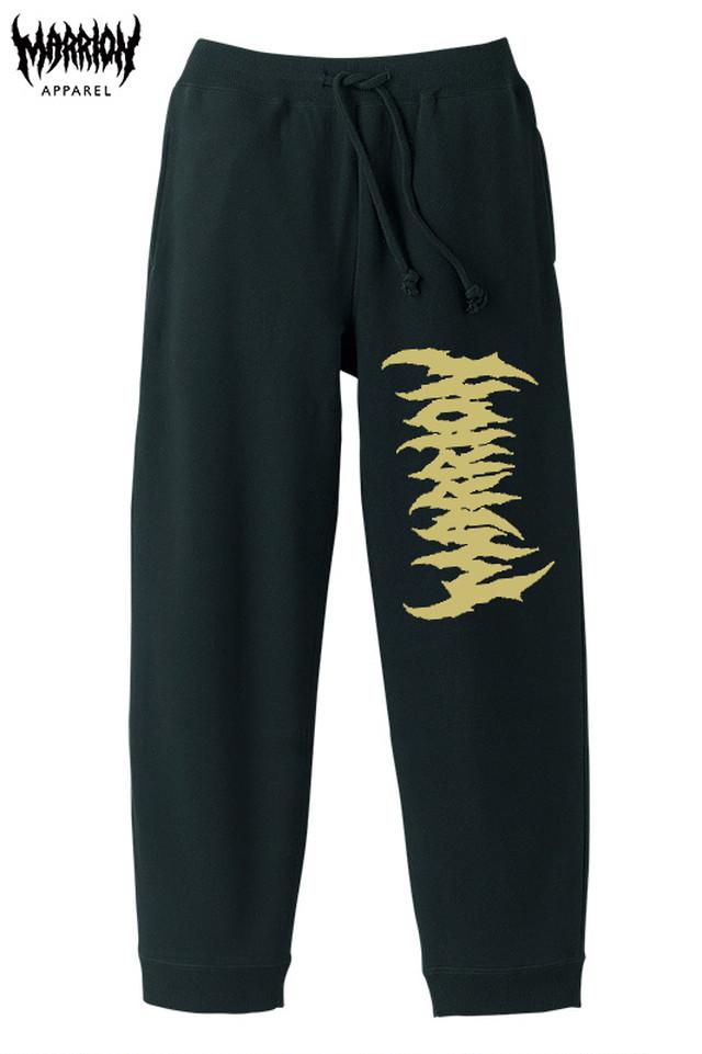 Death Marrion Logo Pants (Black×Gold)