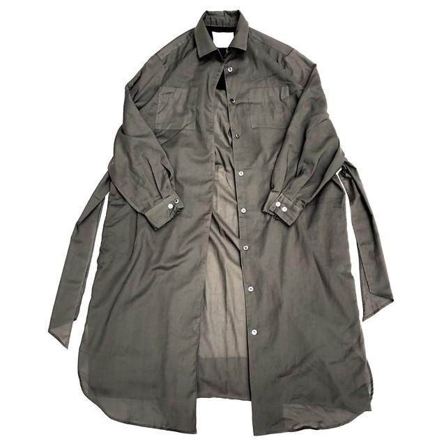 Air Coat Dress/OLIVE