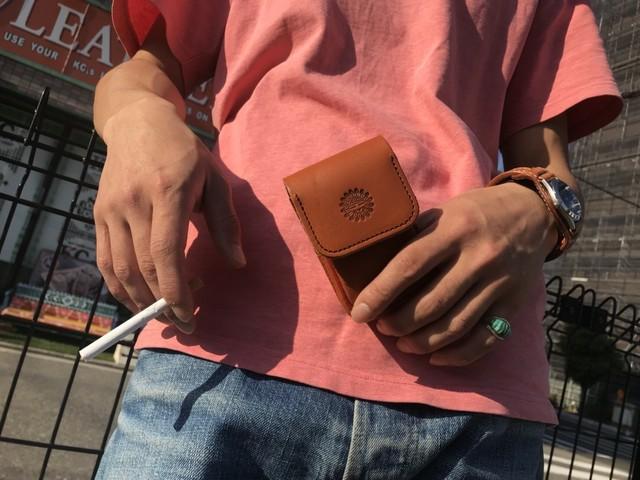 タバコケース サンフェイス1 カウハイド