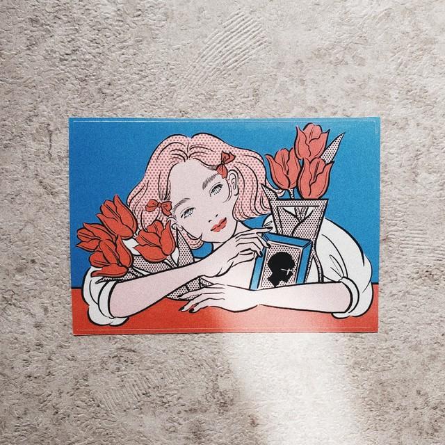Flower sticker 【Tulips】