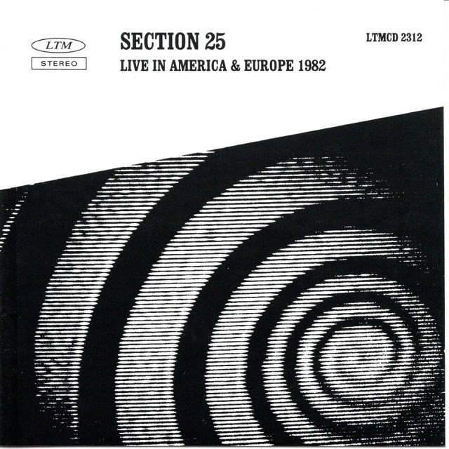 【CD・英盤】Section 25 / LIVE IN AMERICA & EUROPE 1982