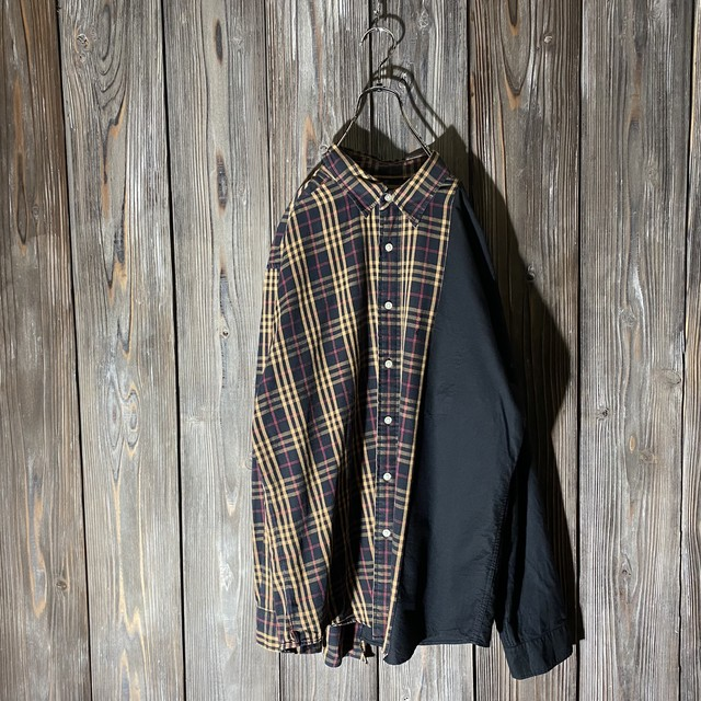 [remake]nova check×black shirt