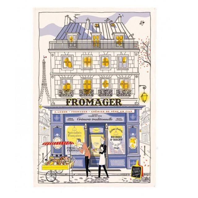 再入荷!Torchon (ティータオル)  パリのチーズ屋さん TORCHONS ET BOUCHONS社