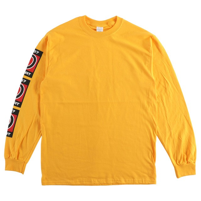 One Family Co. × 0867 /  Long Sleeve T-Shirt / Sport / Square / Gold