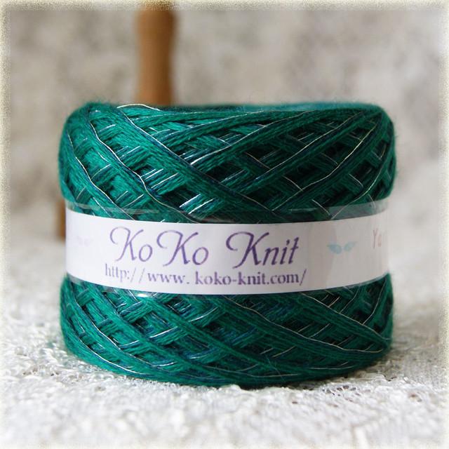 §koko§ for you~メリノウールでやわらか~ 1玉47g以上  メリノウールウ 光沢糸 引き揃え 毛糸 オリジナル糸 ブラック(027)