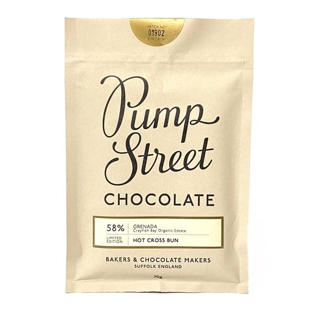 パンプストリートベーカリーチョコレート ホットクロスバン58%