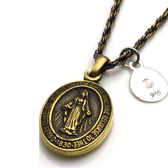 amp japan/アンプジャパン Brass Maria Locket Necklace 1AO-115 残り1点