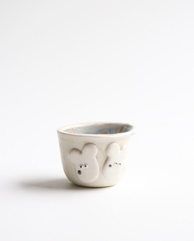 二匹ワンコロの小さなコップ 食器