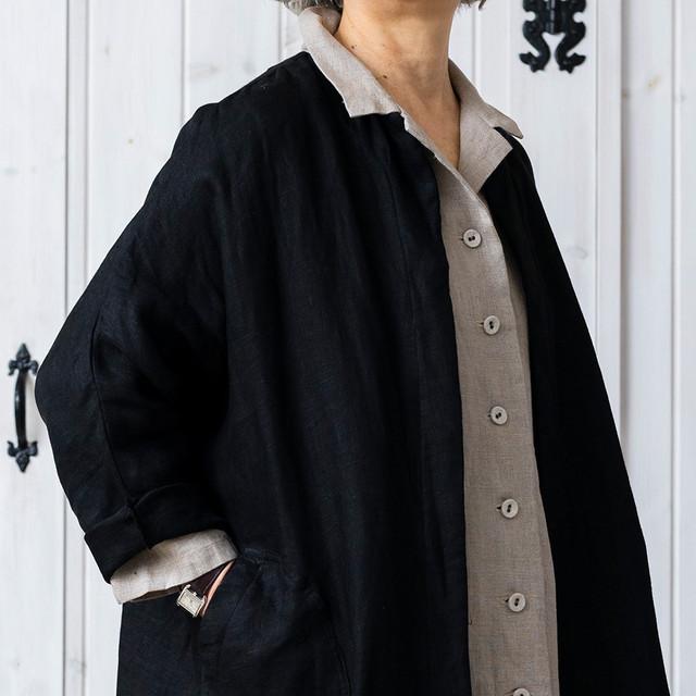 ダブルガーゼラグラン袖コート