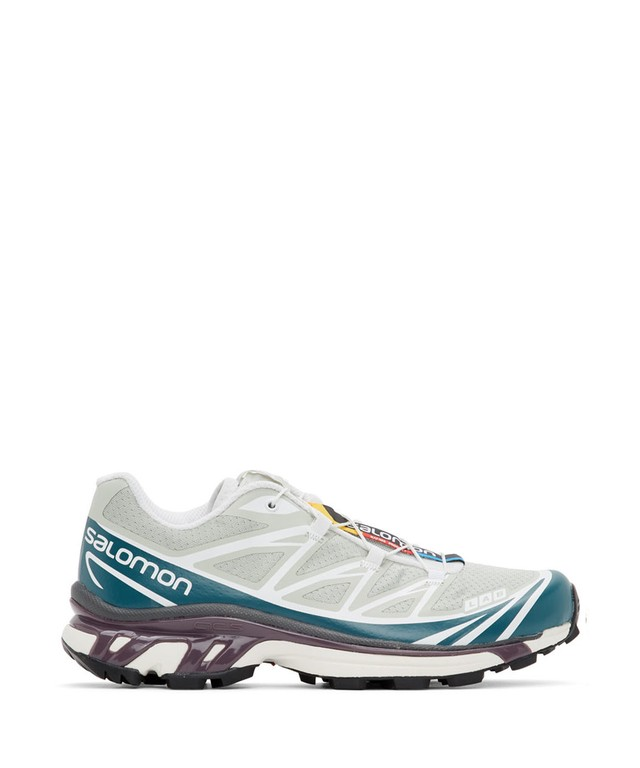 SALOMON ADVANCED XT-6 ADVANCED MINERAL GREY/MALLARD BLUE/WHITE 410863