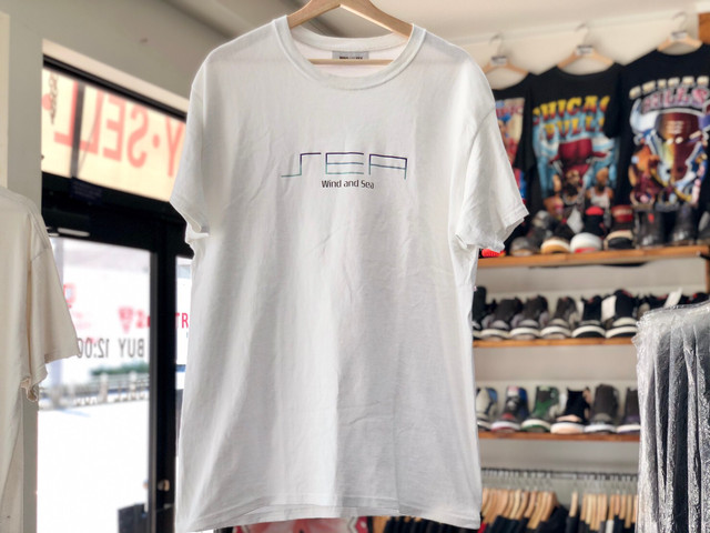 WIND AND SEA WDS S_C_E T-SHIRT WHITE LARGE 30JH8020