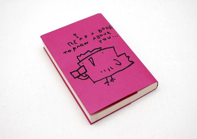 紙のブックカバー01