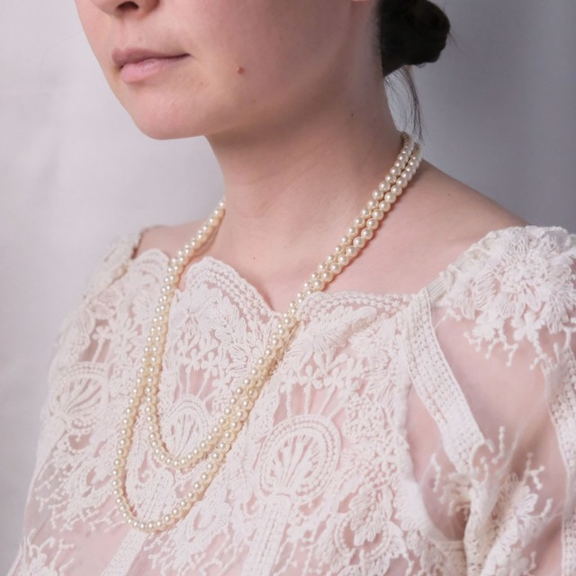 the spring knit + vintage collection: the pearl necklace edition 2 10