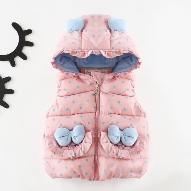 【子供服】カートゥーン暖かい新生児ベビベスト・トップス24304233