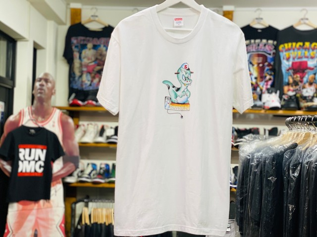 Supreme DINOSAUR TEE WHITE MEDIUM 30JG7411