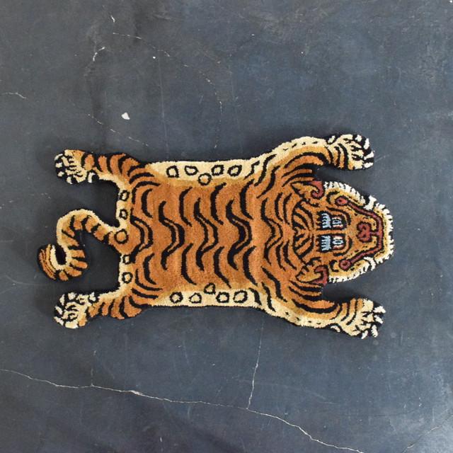 チベタンタイガーラグ 顔パターン 【1】L