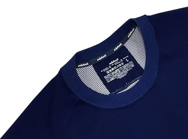 ミストラル ユニセックス【HP-DRY(ハイドロフォビックドライ)半袖Tシャツ - エムドット サンディー -】NAVY