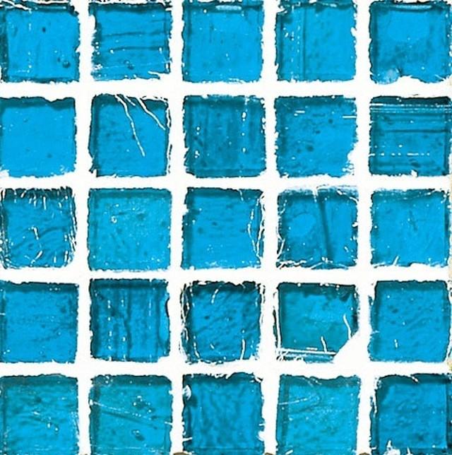 Staind Grass Mosaic【Hawaiian Blue/Natural】ステンドグラスモザイク【ハワイアンブル-/ナチュラル】