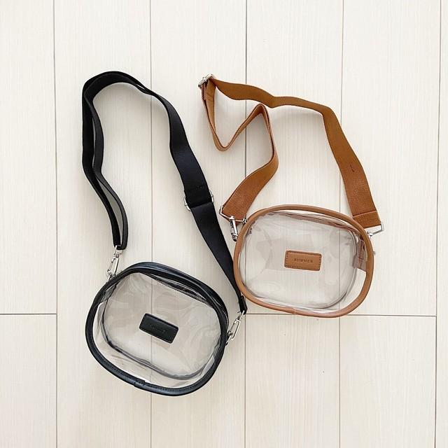 clear shoulder bag[6/17n-28]