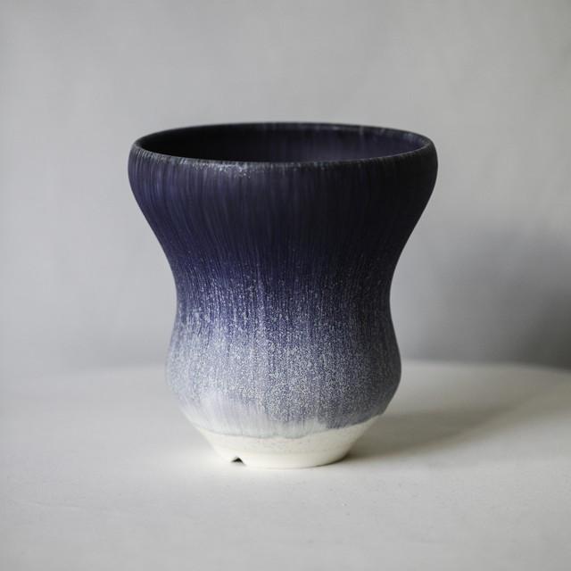 Basic bowl pot(blue gray)※Large