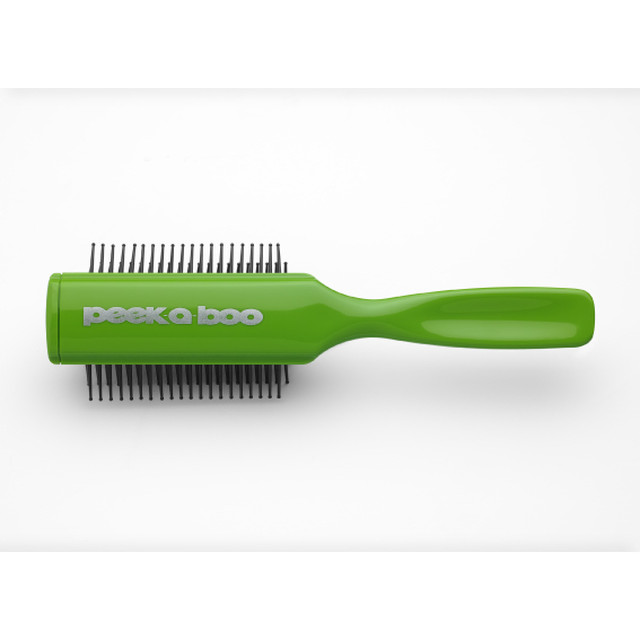 CERAMIC PIN BRUSH (YELLOW GREEN)