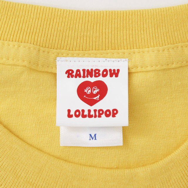 ORIGINAL LOVE Tシャツ YELLOW