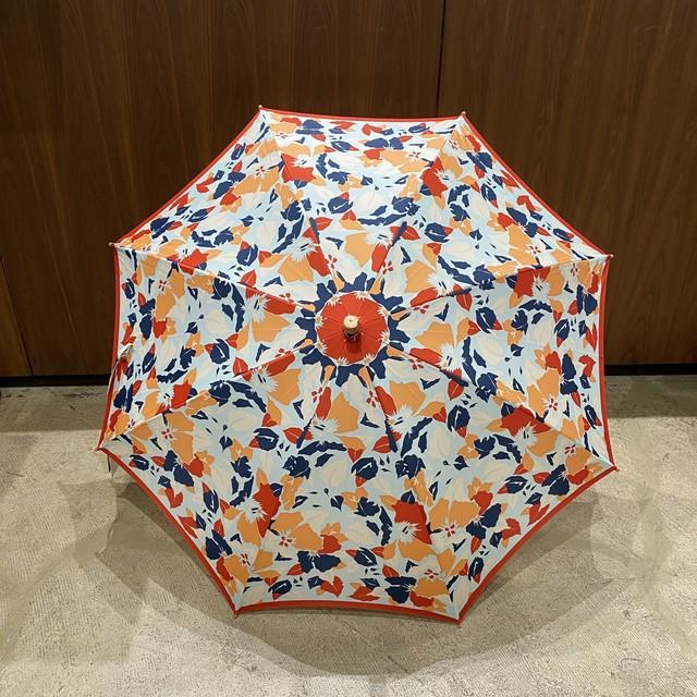 manipuri  4  折りたたみ 刺繍入り日傘 (晴雨兼用)