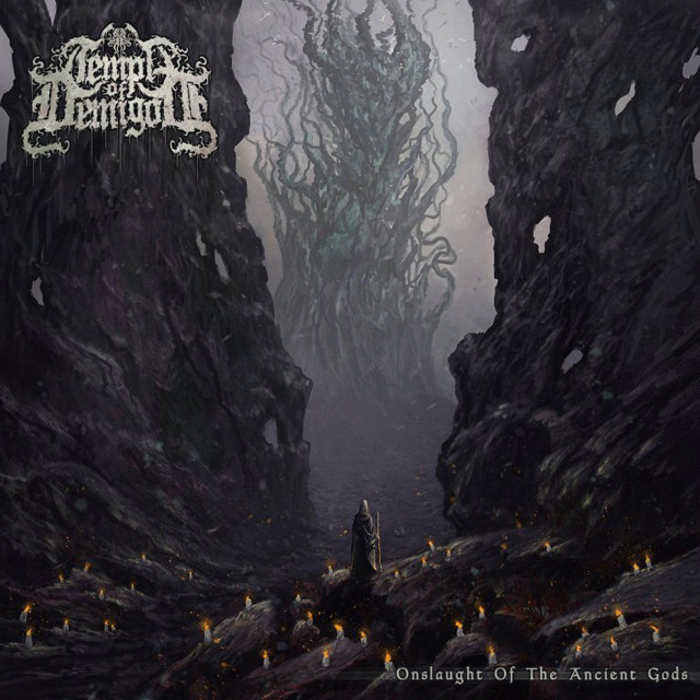 TEMPLE OF DEMIGOD『Onslaught of the Ancient Gods』CD