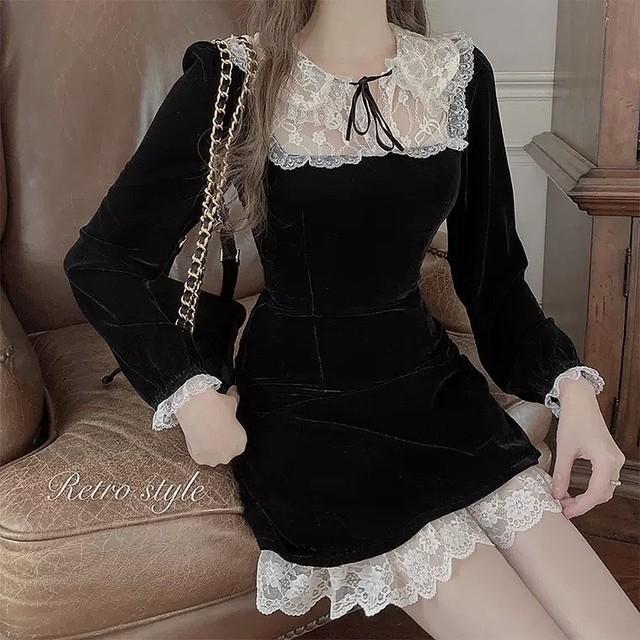 doll lace dress