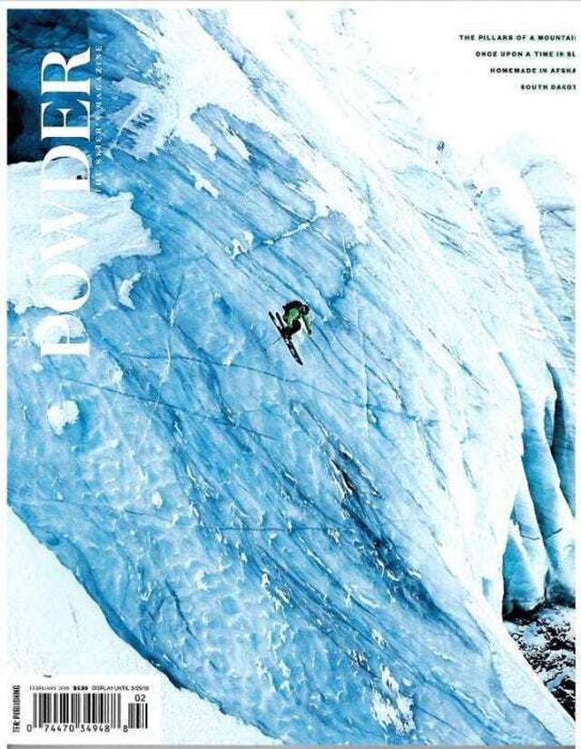 POWDER 2019年2月号(スキー雑誌)