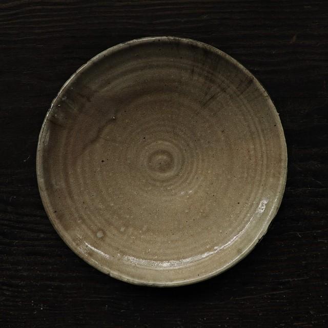 黄9寸皿 uchida yoshimi