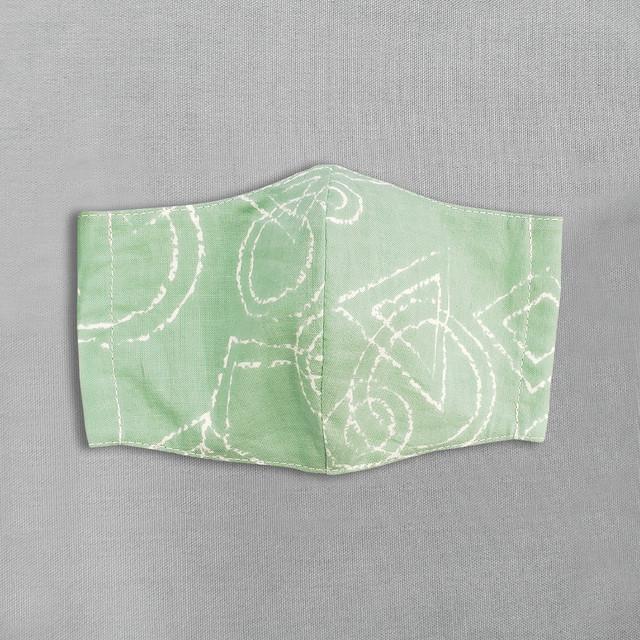 デザイナーズ マスク|ピタゴラス|グリーン