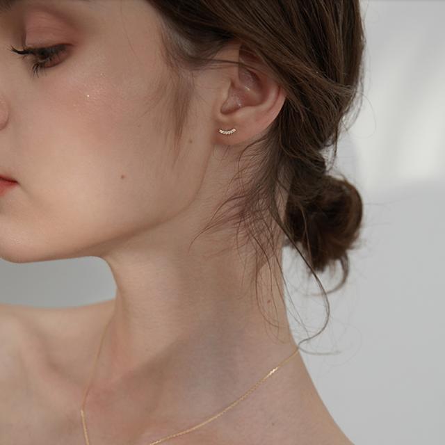 arc bijou pierce gold/silver p146