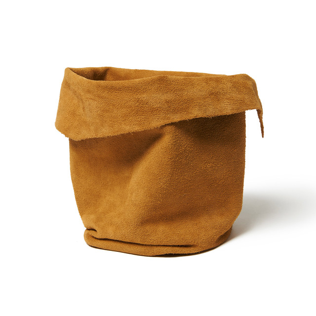 【hobo】Cow Suede Pot Plant Cover(M)