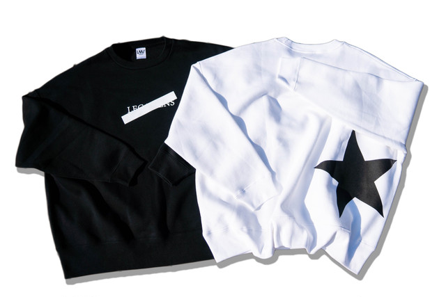 【over size sweat】/ black
