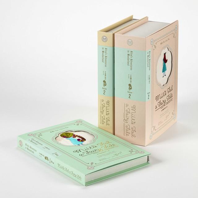 moritaMiW 不思議の国のアリスの話 GIFT BOOK 3セット B-64348-99-PAP