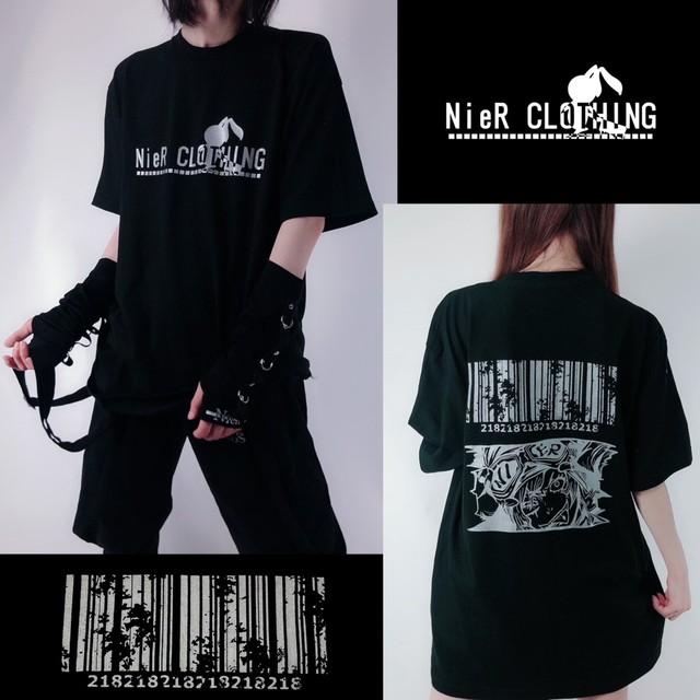 BLACK TEE【NieR CODE】