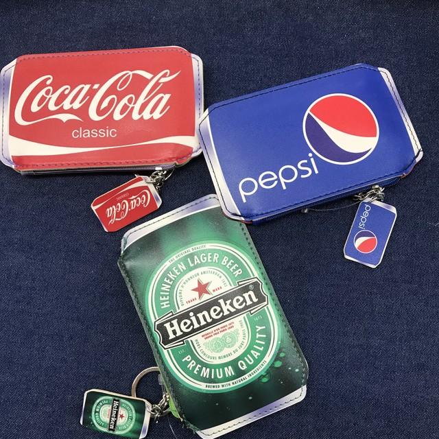 ハイネケン ビール缶 ポーチ 小銭ケース キーホルダー