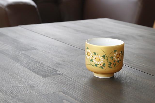 日本四季盃 菊  *丸モ高木陶器* お酒をより楽しむためのおしゃれな酒器!